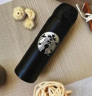 Термос Starbucks (Старбакс) черный Минск +375447651009
