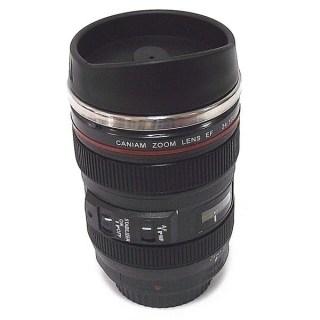 Термостакан  в виде объектива от фотоаппарата №3 черный Минск +375447651009