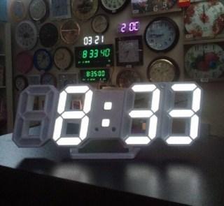 Цифровые часы с функцией будильника купить