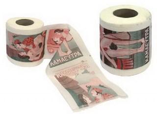 Туалетная бумага-прикол «Камасутра» купить в Минске +375447651009