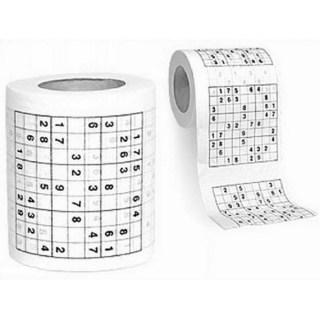 Туалетная бумага-прикол «Судоку» купить в Минске +375447651009