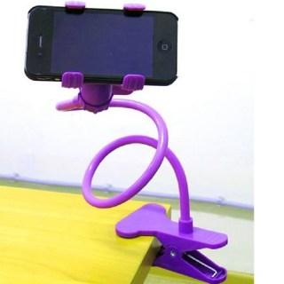 Универсальный держатель для телефона с прищепкой купить в Минске +375447651009