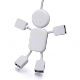 USB- хаб «Человечек» 4 порта купить в Минске +375447651009