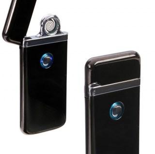 Электронная USB-зажигалка «LIGHTER CLASSIK» черная +375447651009