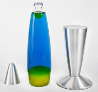 Лава лампа сине-желтая 41 см. купить в Минске +375447651009