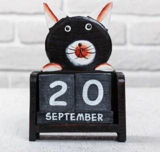 Вечный календарь «Черный кот» купить в Минске +375447651009