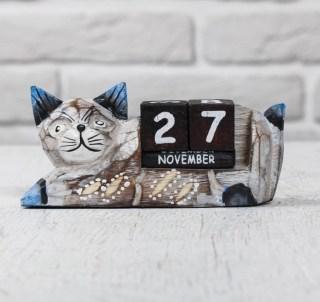 Вечный календарь «Кошка» купить в Минске +375447651009