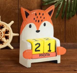 Вечный календарь «Лиса» купить в Минске +375447651009