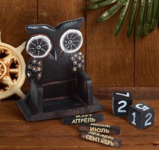 Вечный календарь «Полуночная сова» купить в Минске +375447651009