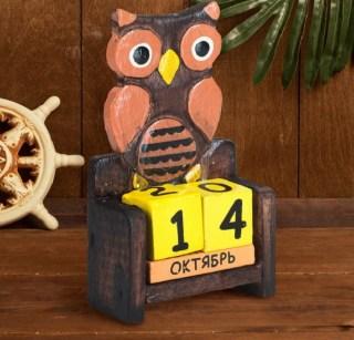 Вечный календарь «Совенок» купить в Минске +375447651009