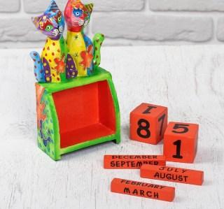 Вечный календарь «Веселые котята» купить в Минске +375447651009