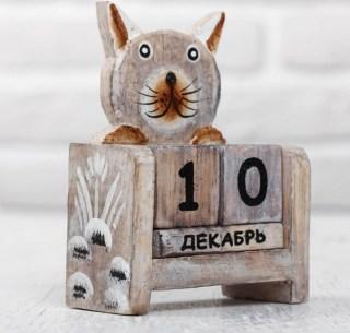 Вечный календарь «Веселый котик» купить в Минске +375447651009