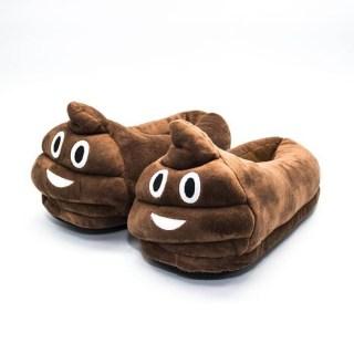 Тапочки смайлики Какашка (Эмоджи, Emoji) Минск