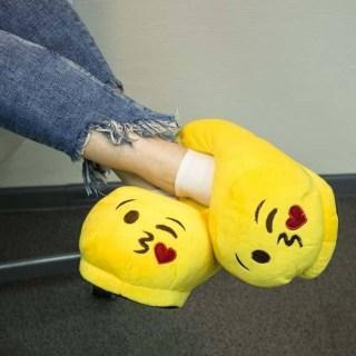 Тапочки смайлики Поцелуй (Эмоджи, Emoji) купить