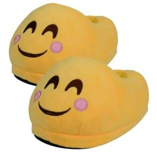 Веселые тапочки Emoji «Улыбка» Минск