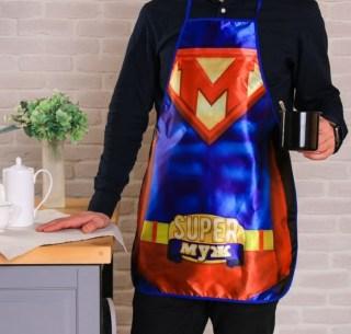 Веселый фартук «Супер муж» купить в Минске +375447651009