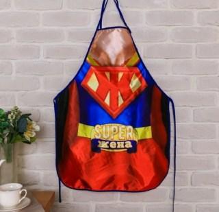 Веселый фартук «Супер жена» купить в Минске +375447651009