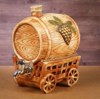Винная бочка «Зеленый виноград» купить в Минске +375447651009