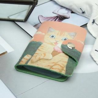 Визитница «Кот с мороженым» 28 холдеров купить в Минске +375447651009