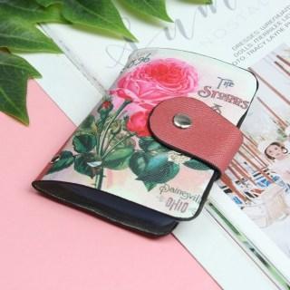 Визитница «Розы» красная 24 холдера купить в Минске +375447651009