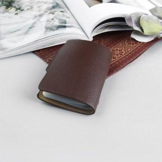 Визитница «Стиль» коричневая 26 холдеров купить в Минске +375447651009