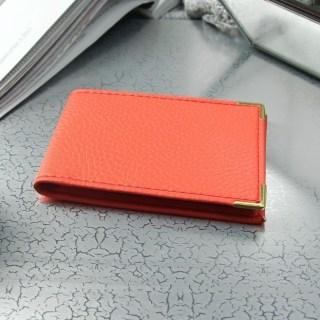 Визитница «Стиль» оранжевая 22 холдера купить в Минске +375447651009