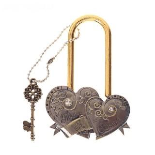 Замок свадебный «Два сердца» купить в Минске +375447651009