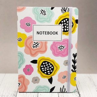 Записная книжка «Цветы» А5 купить в Минске +375447651009