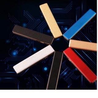 Зажигалка электронная USB «Style» синяя Минск +375447651009