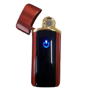 Зажигалка электронная USB «Toyota» красная Минск +375447651009