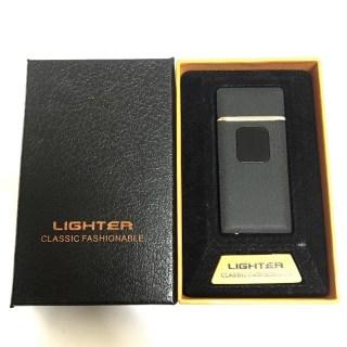 Зажигалка с зарядкой от USB «CLASSIC» черная Минск +375447651009