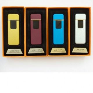 Зажигалка с зарядкой от USB «Элегант» серебристая купить в Минске +375447651009