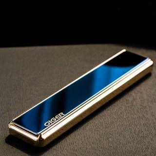 Зажигалка с зарядкой от USB «GIGER» синяя Минск +375447651009