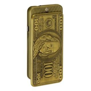 Зажигалка-слайдер «100$» газовая купить в Минске +375447651009