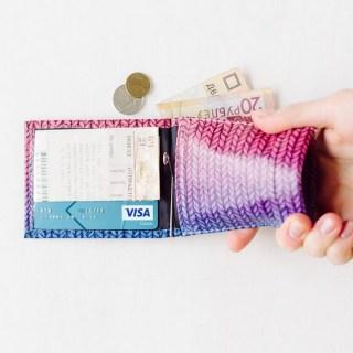 Зажим для денег с монетницей «Колоски» кожаный купить в Минске +375447651009