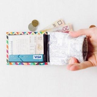 Зажим для денег с монетницей «Лето» кожаный купить в Минске +375447651009
