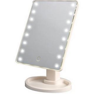 Зеркало с подсветкой для макияжа белое Минск +375447651009