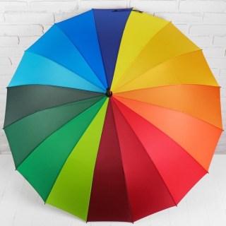 Зонт «Радужный» полуавтомат  купить в Минске +375447651009