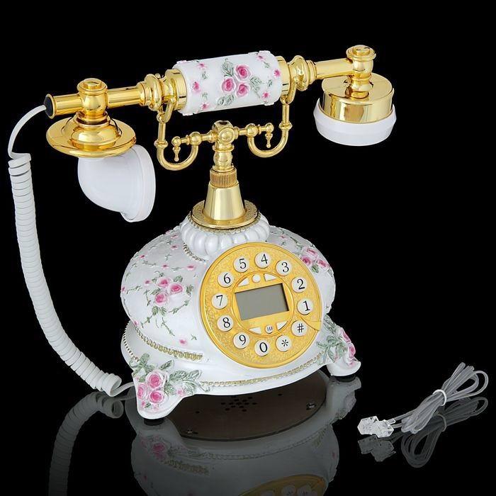 Телефон в стиле ретро «Розы» Минск +375447651009