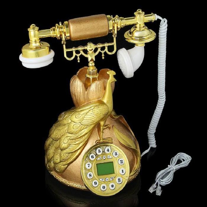 Ретро телефон «Павлин на кругу» купить Минск +375447651009