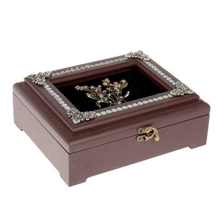 Шкатулка для украшений «Весенние цветы» Минск +375447651009