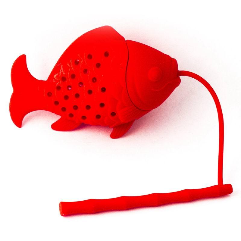 Ситечко для чая «Рыбка' красная» Минск купить