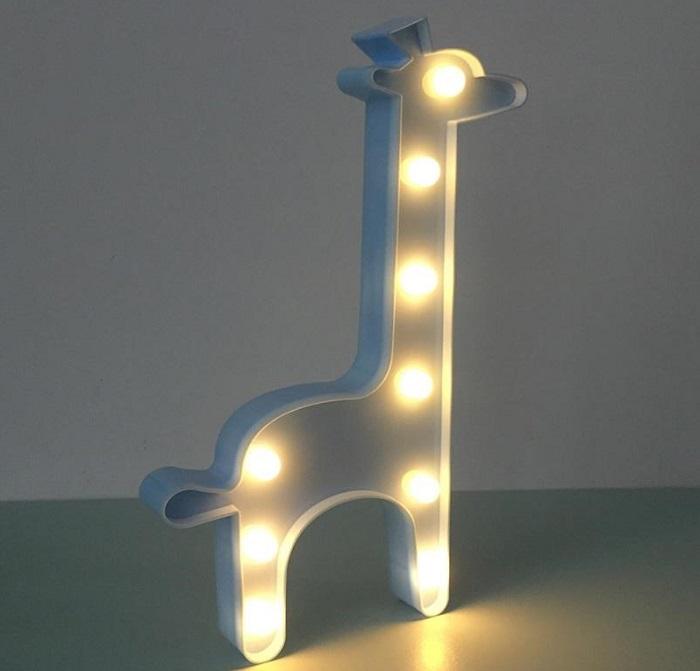 Светильник-ночник «Жираф» белый купить в Минске +375447651009