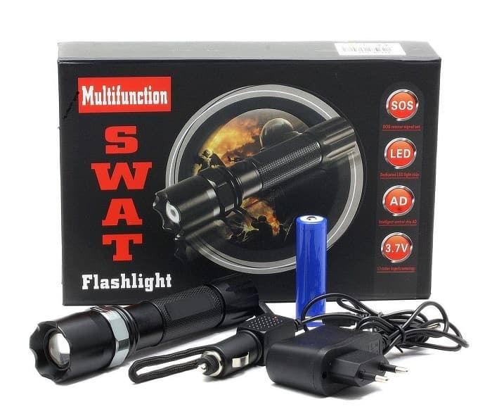 Светодиодный фонарик SWAT купить