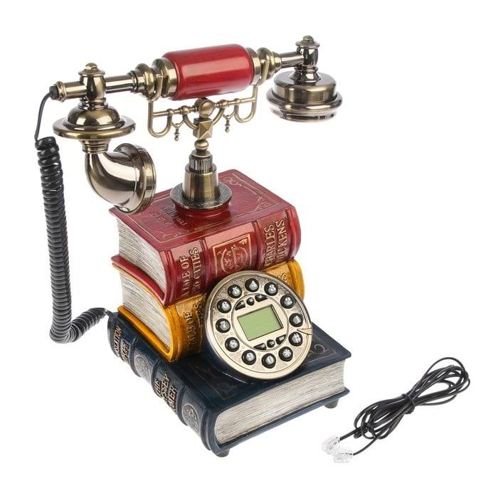 Телефон в стиле ретро «Книги» купить