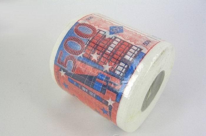 Туалетная бумага-прикол «Евро» Минск