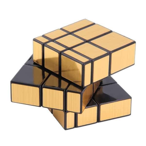 Зеркальный кубик Рубика QIYI «Mirror» золото Минск