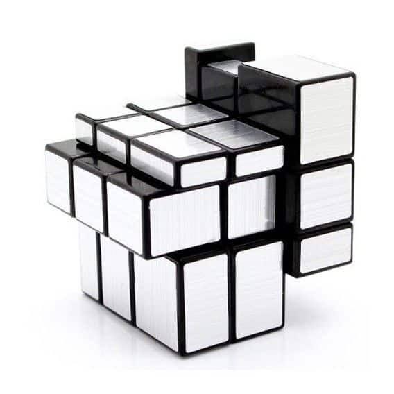 Зеркальный кубик Рубика Z-Cube 3x3x3 серебрянный Минск