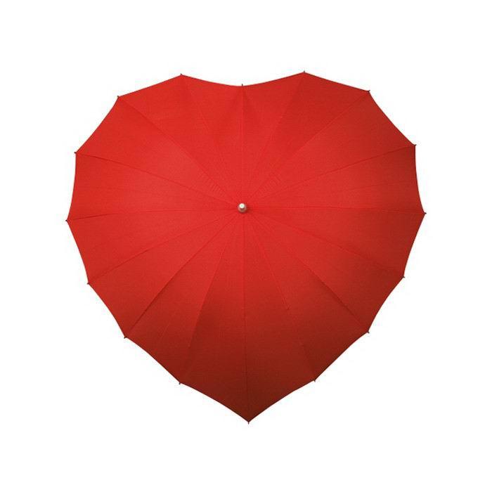 Зонт в виде сердца «Романтичный» купить Минск