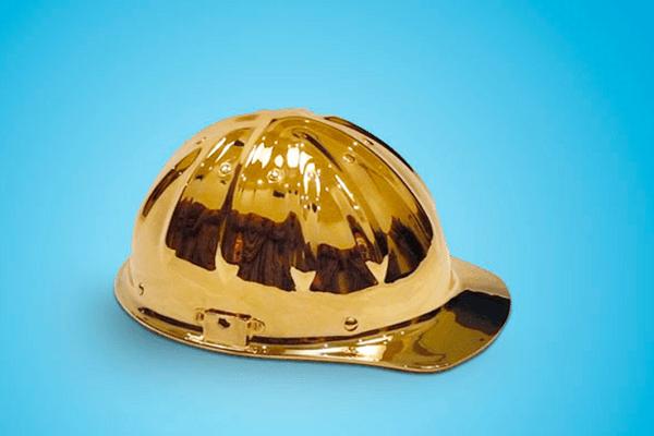 золотая каска